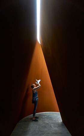 June 4, 2016- New York, New York : Richard Serra at Gagosian Gallery Chelsea, NY  Credit: Robert Altman