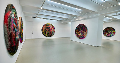 June 9, 2018 - NY, NY   Chelsea Galleries - Damien Hirst / LaurieSimmons / Tomas Saraceno / Nick Cave  Photographer- Robert Altman Post-production- Robert Altman