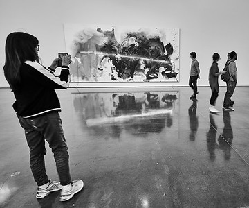 Sept. 22, 2018, 2018 - New York, NY Chelsea Art Galleries -  Mary Weatherford    Photographer- Robert Altman Post-production- Robert Altman