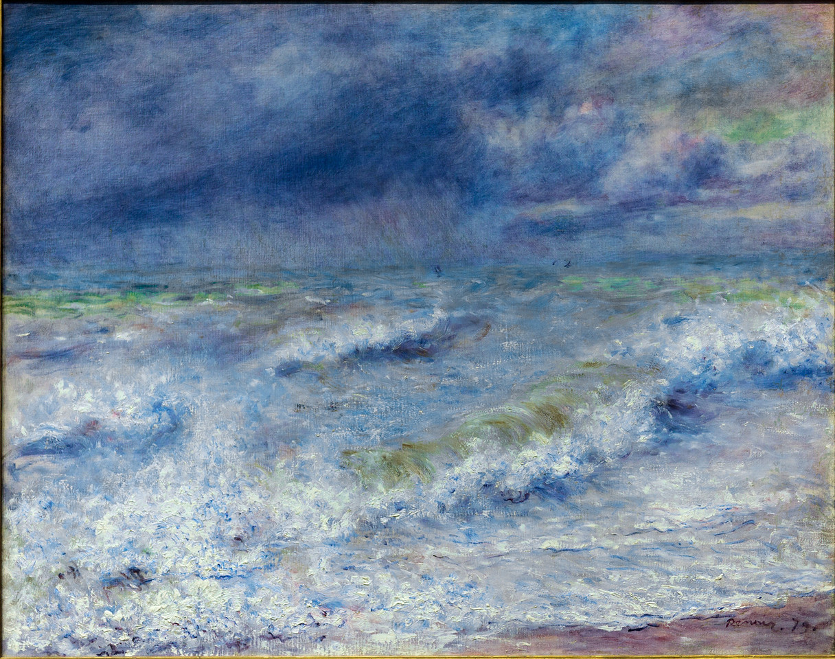 Pierre-Auguste Renoir, Seascape, 1879