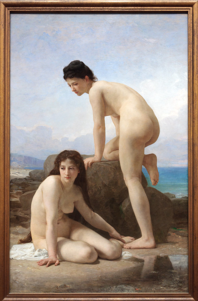 William-Adolphe Bougureau, The Bathers, 1884