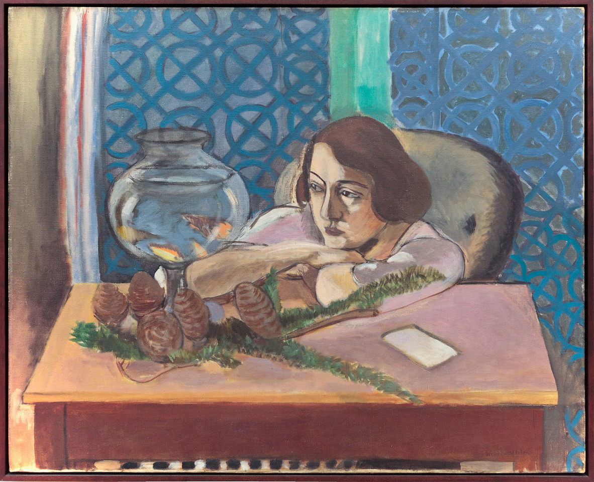 Henri Matisse, Woman before an Aquarium, 1921-23