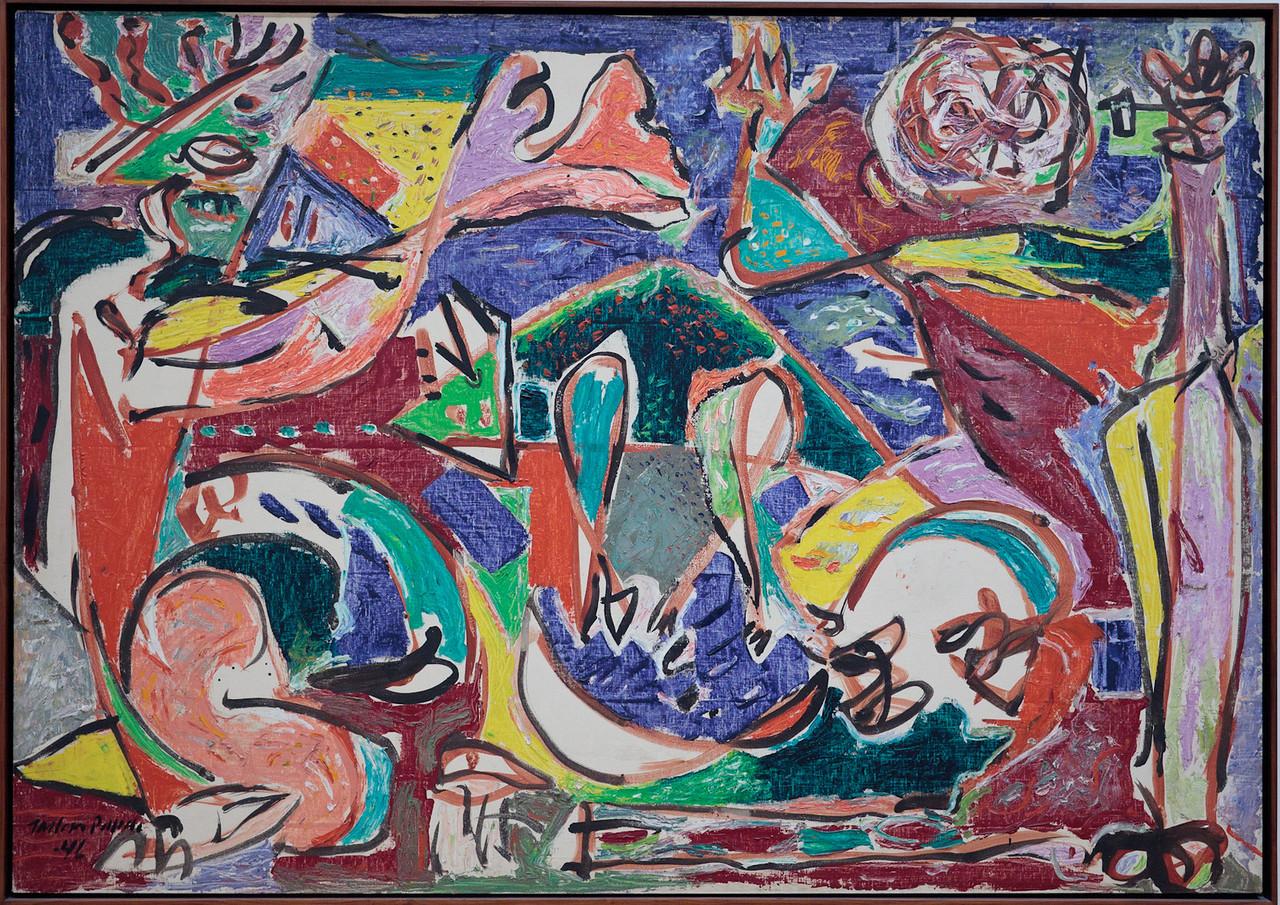 Jackson Pollock, The Key, 1946