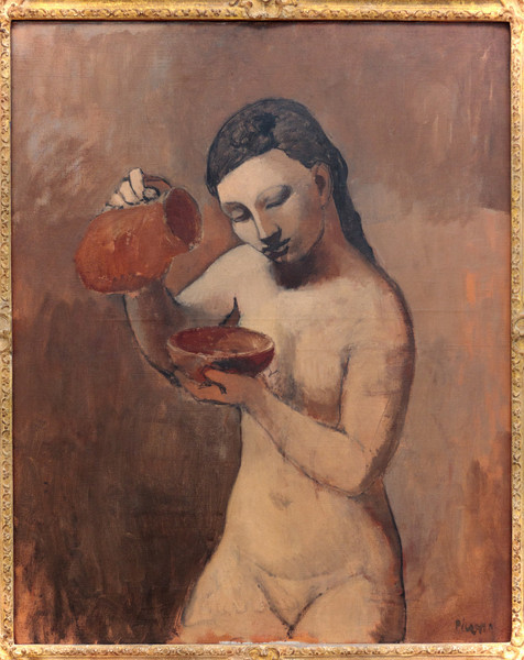 Pablo Picasso, Nude with a Pitcher, summer 1906