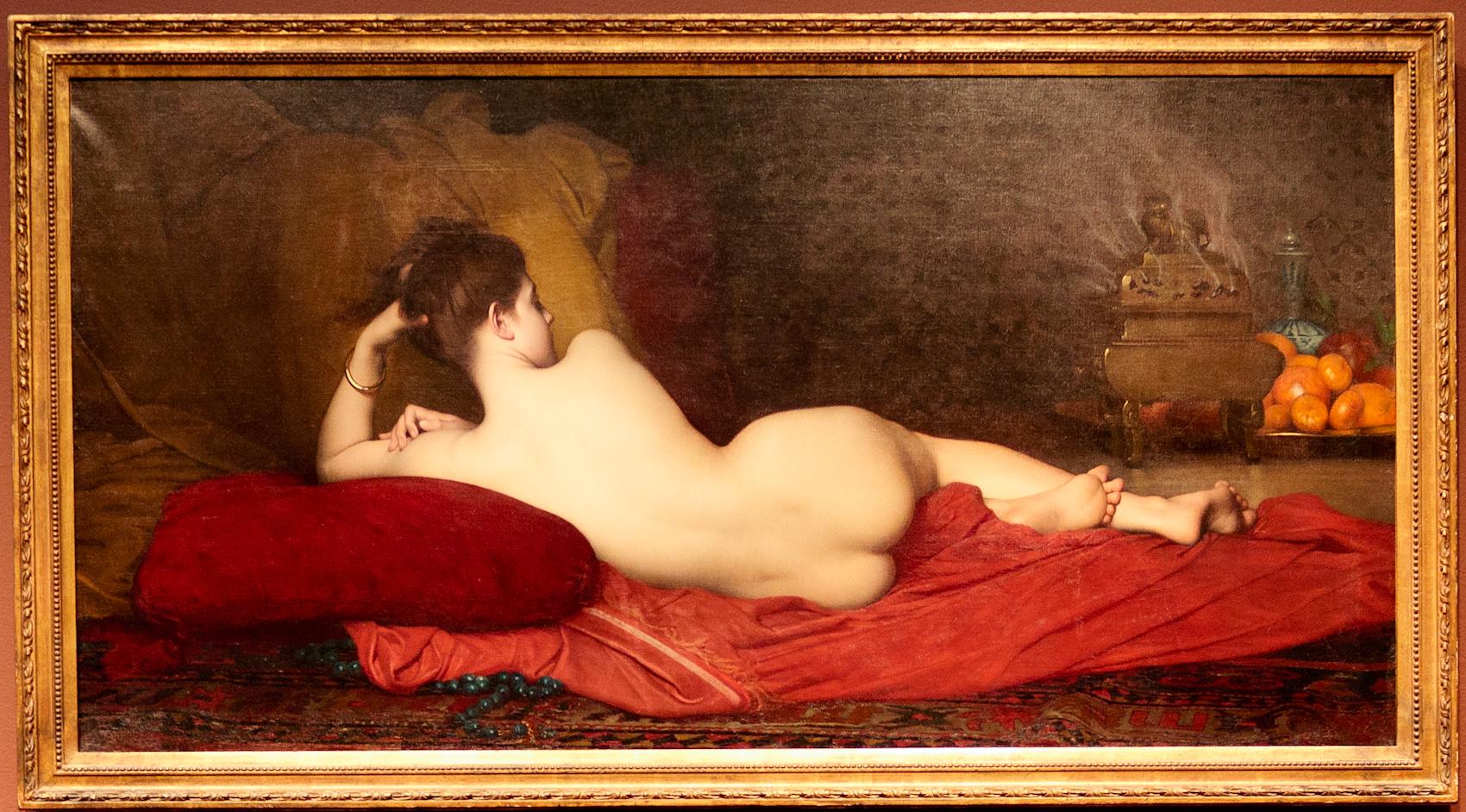 Jules-Joseph Lefebvre, Odalisque, 1874