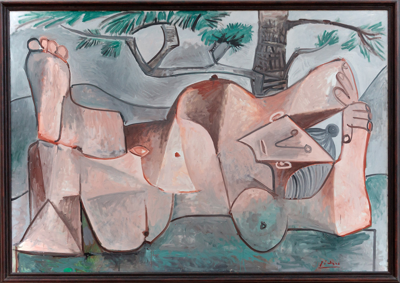 Pablo Picasso, Nude under a Pine Tree, 1959
