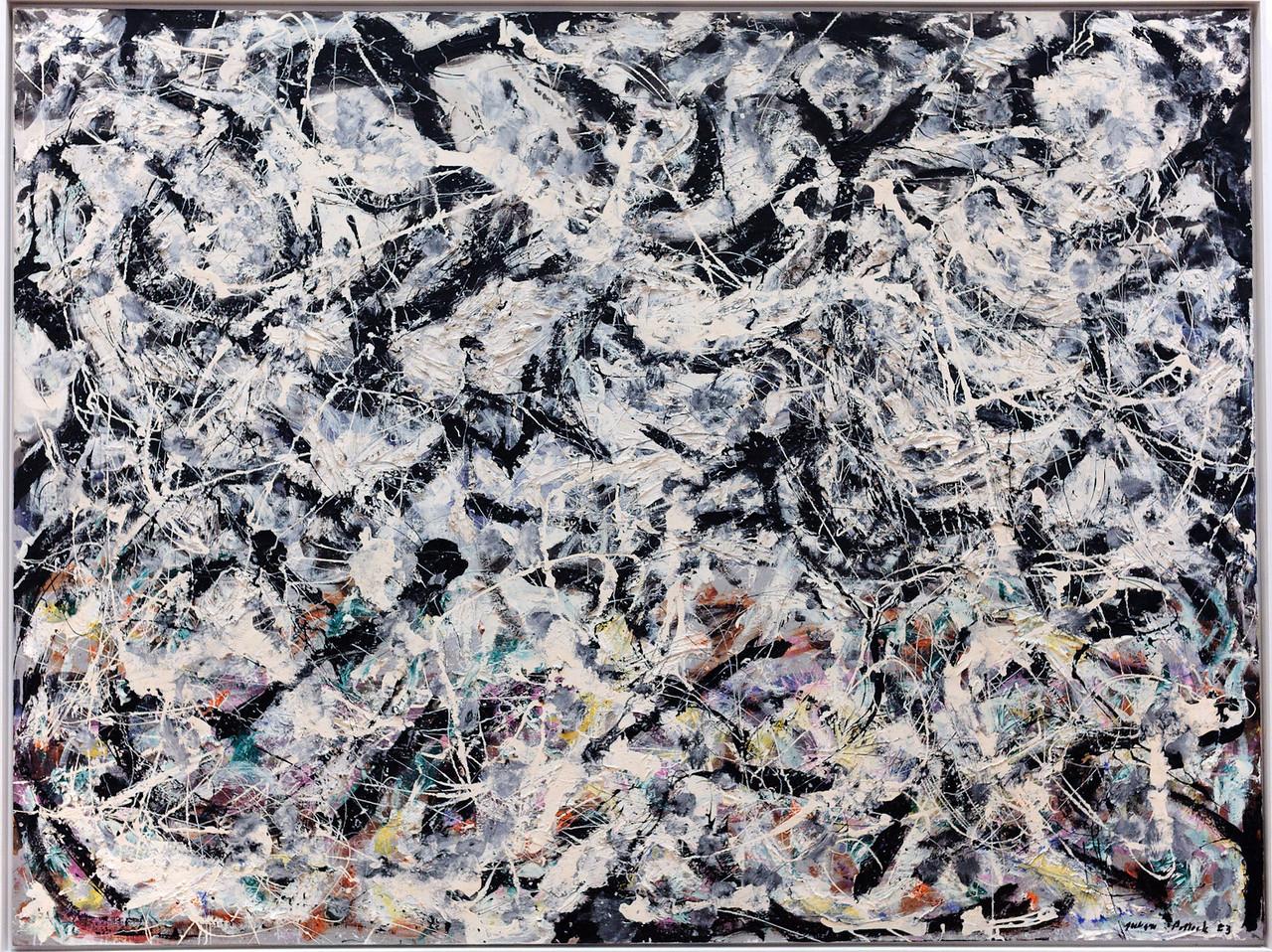 Jackson Pollock, Greyed Rainbow 1953