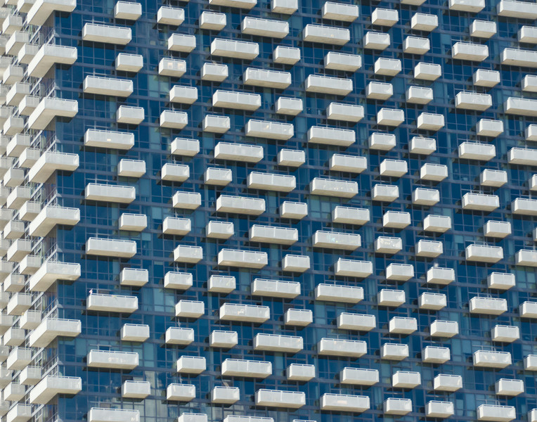 Balconies, Chicago (Blue)