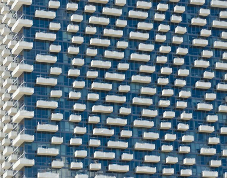 Balconies, Chicago (Blue)