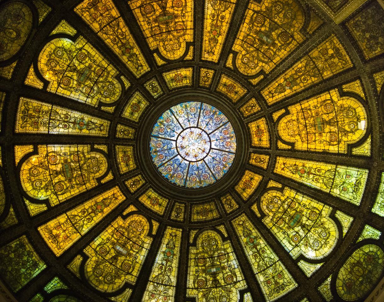 Glass Dome, Chicago Cultural Center