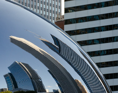 Architectural Reflection (The Bean)
