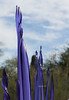 Purple glass spikes 3209