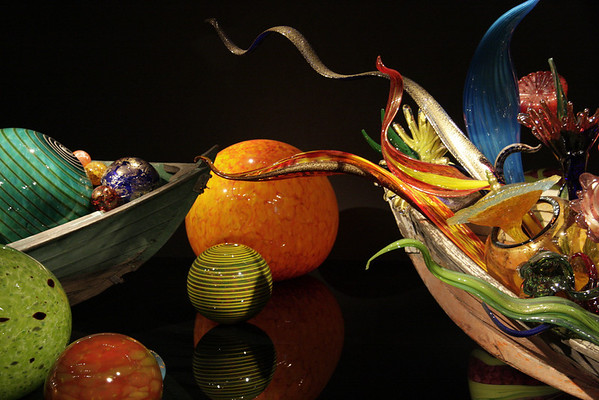 Chihuly Exhibit at the De Young
