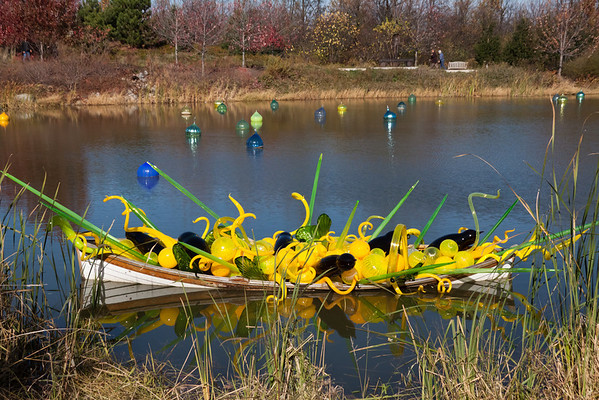 Chihuly Exhibition #3 - Pond Art