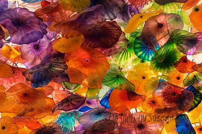 Fiori Di Como at Bellagio  Before I knew about Chihuly, I loved this glass sculpture in the lobby of the Bellagio.  This stunning artwork is comprised of 2,000 hand-blown glass blossoms.   It's Magnificent - my photograph does not do it justice - you must see for yourself!
