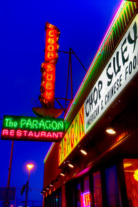 Paragon Restaurant, Longview, WA