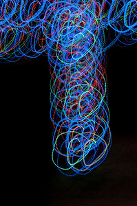 40 Christmas Light Art 2011