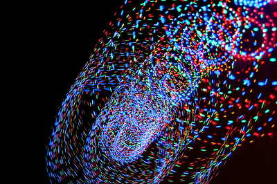 32 Christmas Light Art 2011