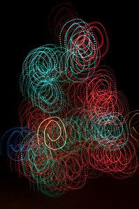 14 Christmas Light Art 2011