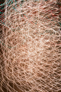 13 Christmas Light Art 2011