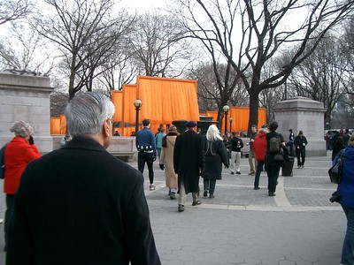 Christo's Gates in NYC