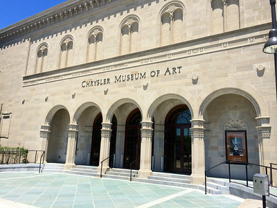 Chrysler Museum of Art: Fun with Lisa and Rocio