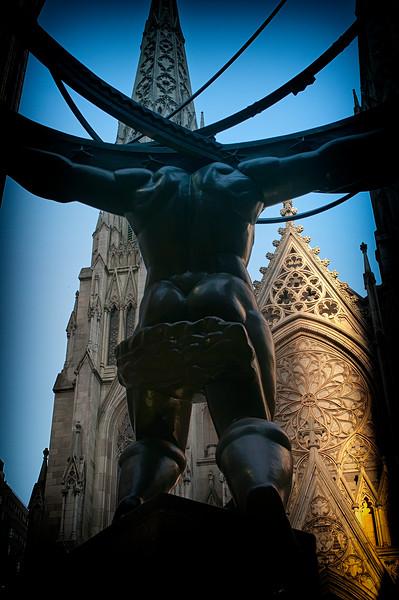 St Patrick's Church NYC background