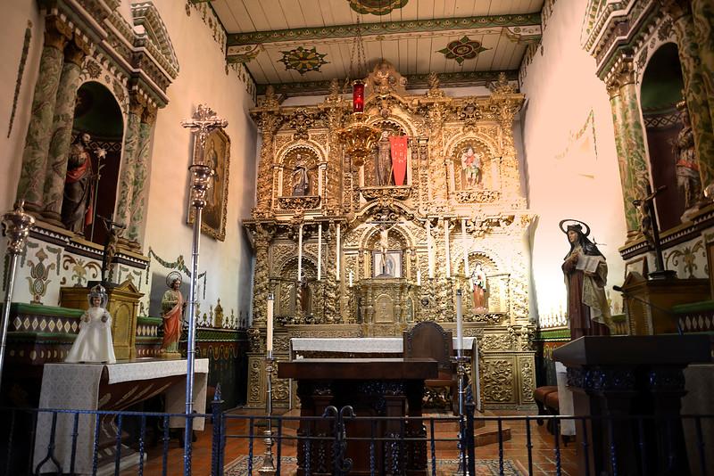 San Juan Capistrano Mission little Chapel
