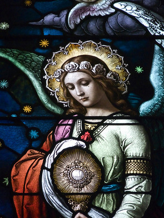 Church of the Blessed Sacrament, Albany, NY-Stained Glass