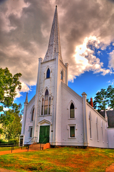 United Baptist Church<br /> Mahone Bay, Nova Scotia