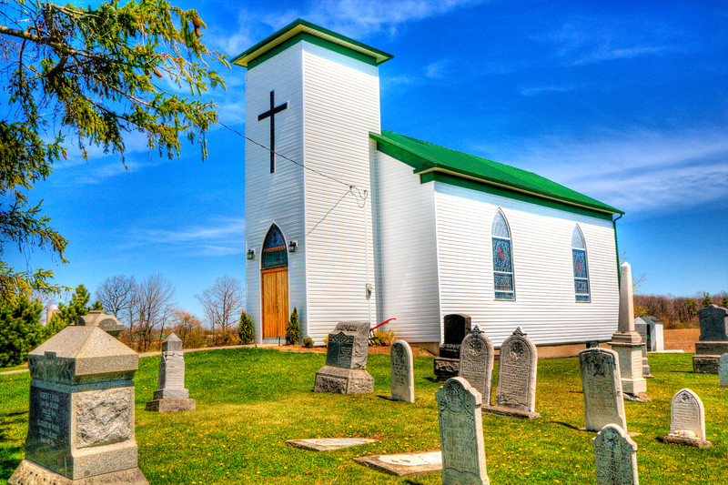 St. John's Anglican Church<br /> Cheapside, Haldimand County<br /> Ontario
