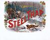 Steel Trap cigar label sample by Schlegel.