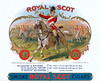 Royal Scot cigar label sample by Schumacher & Ettlinger.