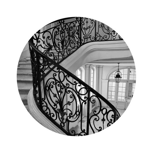 Ironwork Stairs, Le Marais