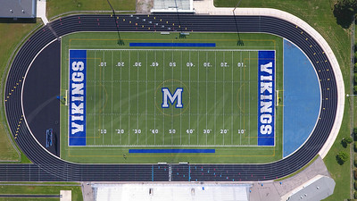 Marysville Vikings logo,  football Stadium , Marsville Michigan,