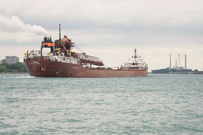 lee tregurtha freighter ship, Cleveland Ohio in St.Clair Michigan