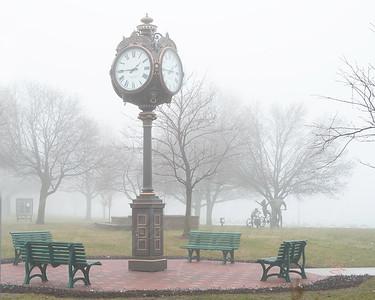 St. Clair Riverside Palmer Park Clock