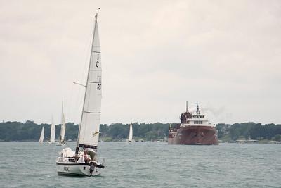 lee tregurtha freighter ship, Cleveland Ohio in St.Clair Michigan