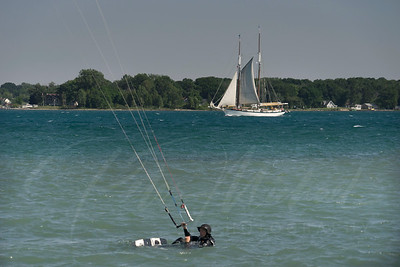 Appledore IV  sailing the St Clair River