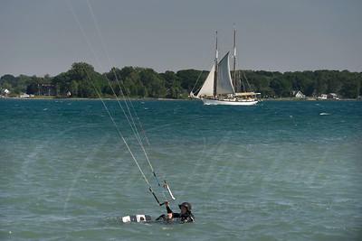 Appledore IV  sailing the St Clair River