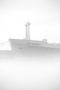 Cape Kennedy in the fog