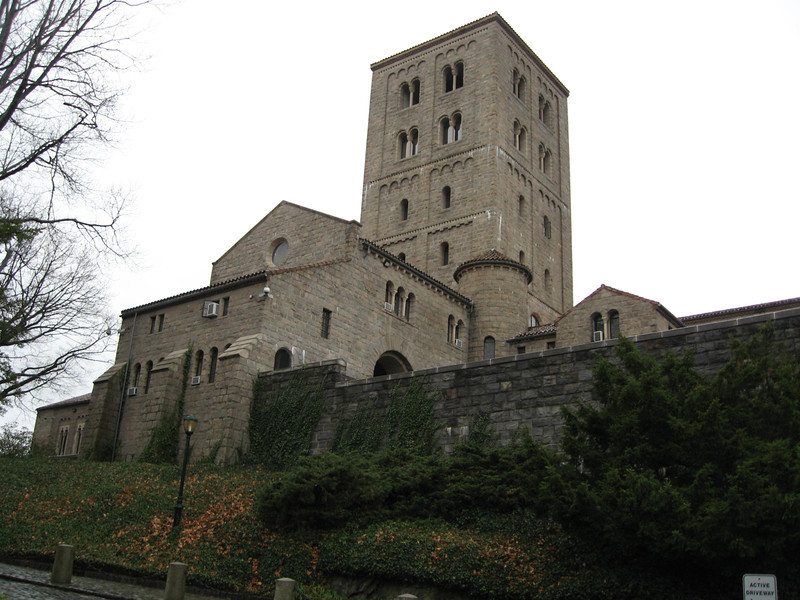 John D. Rockefeller Jr.  built the Cloisters, set on a hilltop in Fort Tyron Park in the upper  Bronx, with a magnificent view in all directions.  it opened to the public in 1938.