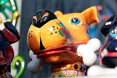 ceramic dog in cave creek