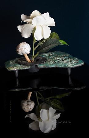 Mushroom_ silk flower 6328