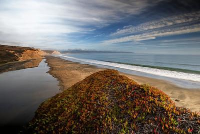 Drakes Beach, Point Reyes, CA October 2014