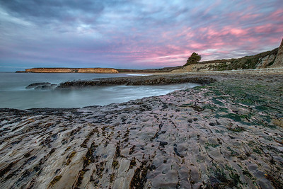 Santa Cruz Sunrise in Purple