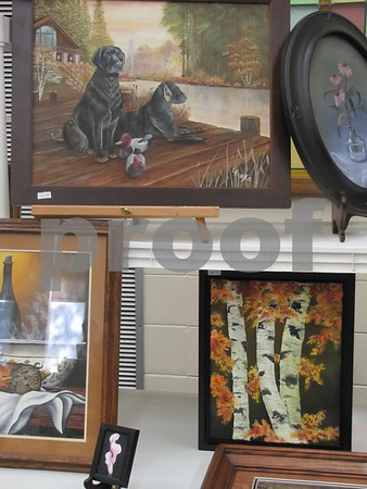 Paintings by Lee Husske