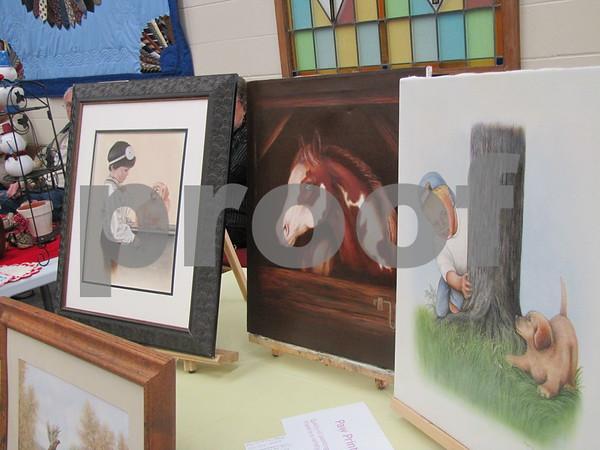 Paintings by Margi of 'Paw Prints by Margi'