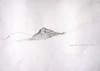drawing: 'hawk's rock 3'  pencil on drawing 594mm x 420mm
