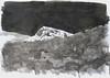 drawing: 'hawk's rock 4'  ink on paper 594mm x 420mm
